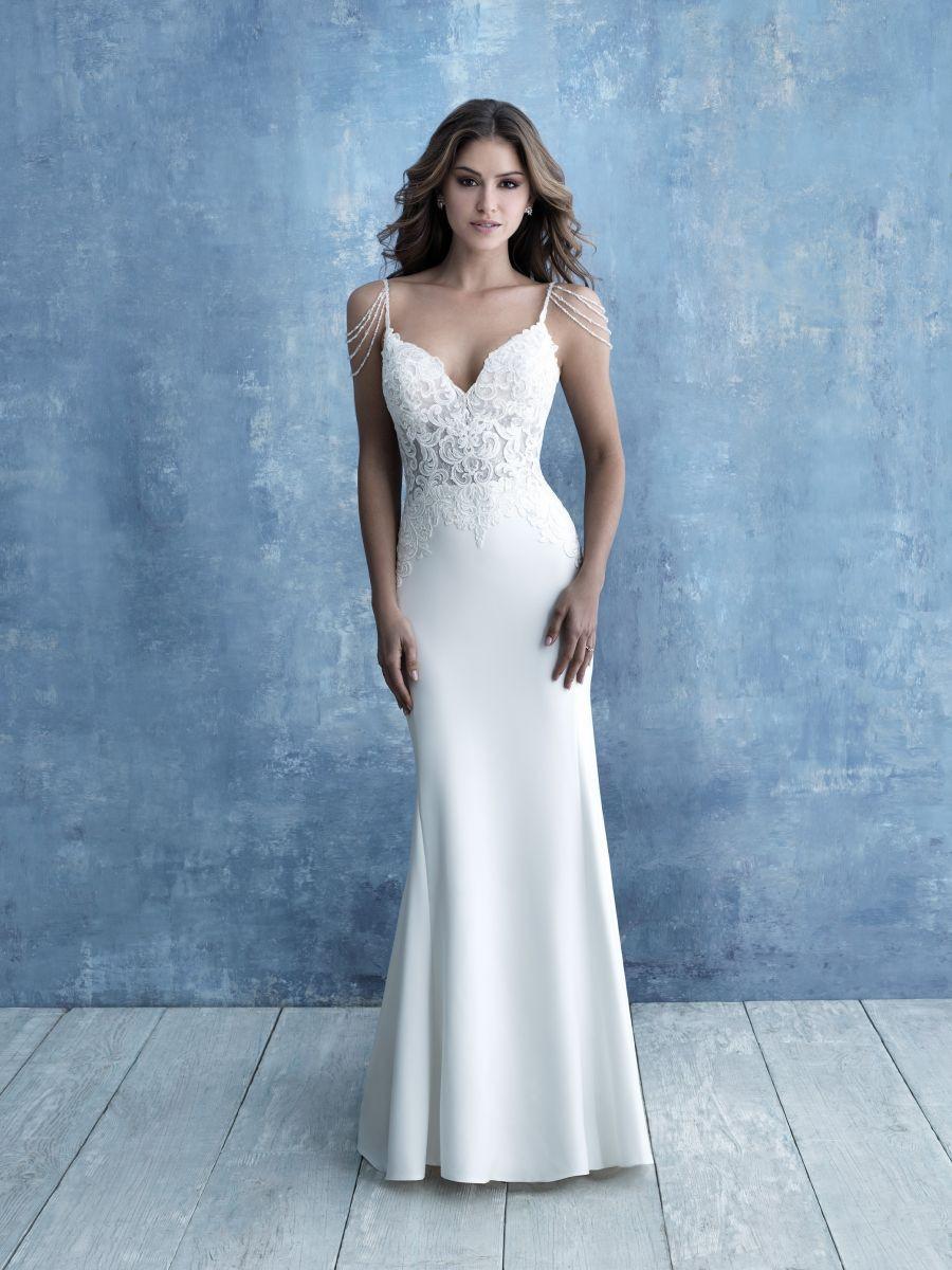 Sheath Crepe Dress