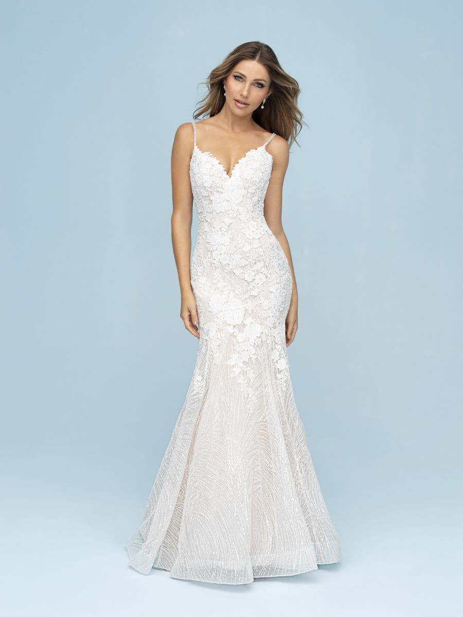 Chantilly Lace Fit and Flare
