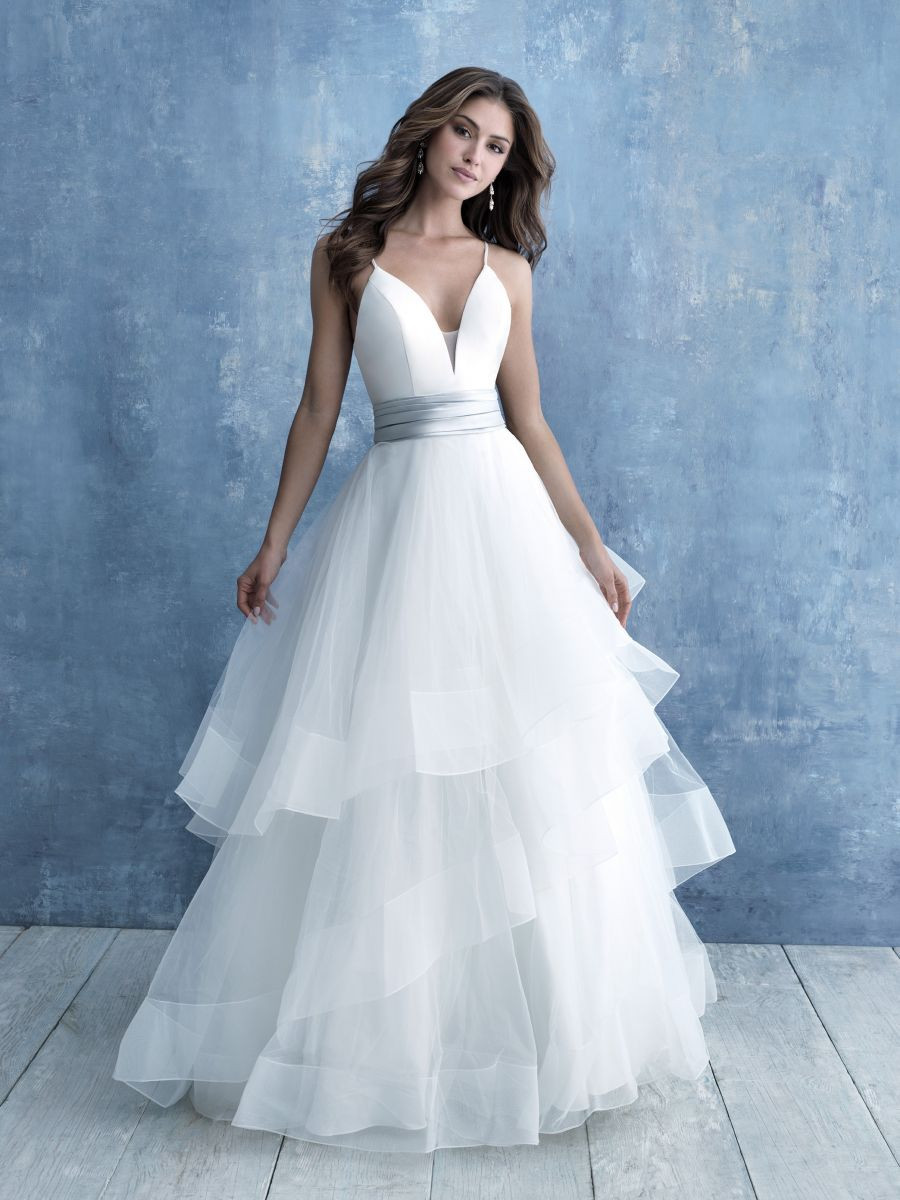 Mikado and Organza Sophisticated and Flirty Ball Gown