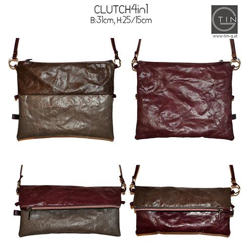 CLUTCH4in1-vino tinto/schoko+schlamm