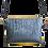 Thumbnail: Flatbags-grau Krokooptik+schwarz+gelb