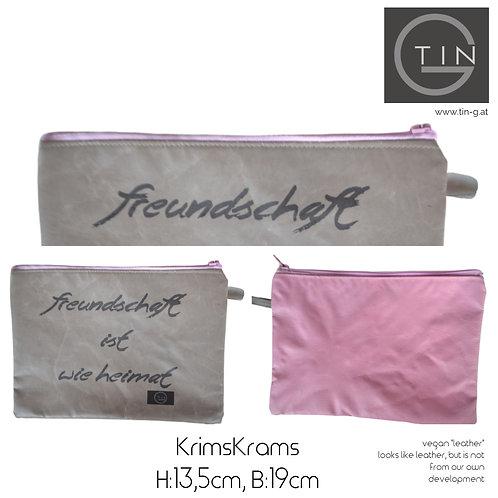 KRIMSKRAMS-greige+pink+Freundschaft