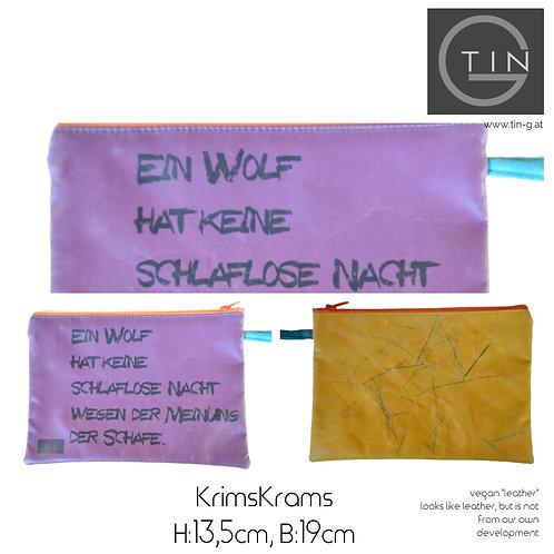 KRIMSKRAMS-lila+sonnengelb+Wolf