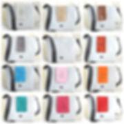 Tasche, Bagy, Tin-G, Lasche, weiß, schwarz, beige, braun, Pusteblume, grau, rot, orange, aqua, blau, rosa, petrol, türkis, magenta, hellrot, Veränderung, veganes Leder, Designertasche, wandelbar