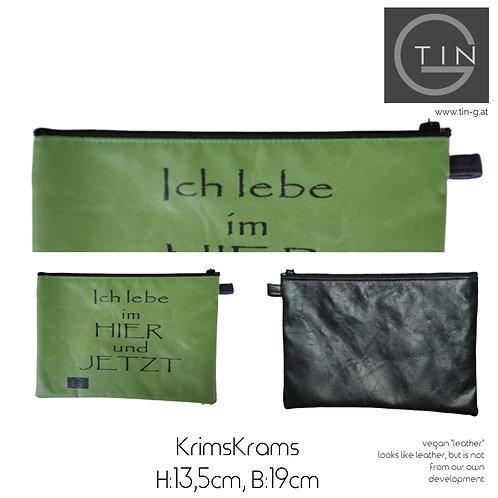 KRIMSKRAMS-erbsig+schwarz+Hier