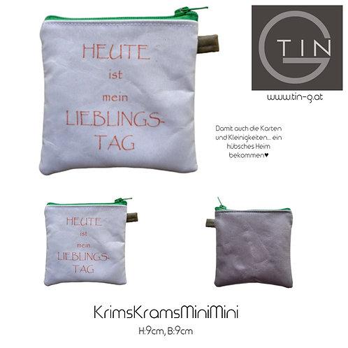 KRIMSKRAMS MiniMini-weiß+grau+Liebelingstag