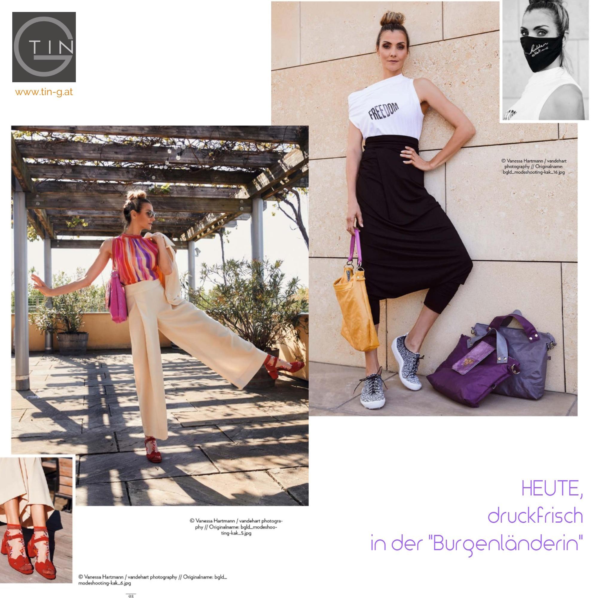 """""""Die Burgenländerin"""" Mai20 Bgld.Designerinnen"""