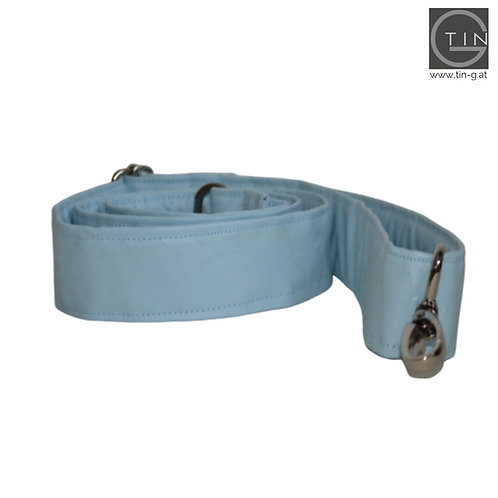 Gurt breit-hellblau-regulierbar