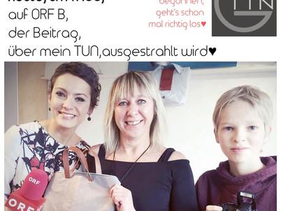 Freu, Freu, Tin-G ist heute, auf ORF B, zu sehen♥