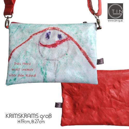KRIMSKRAMSgroß-Kinderzeichnung+rot