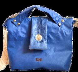 BAGY1: königsblau+Lasche