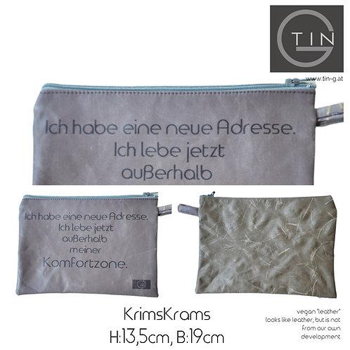 KRIMSKRAMS-grau+oliv+Komfortzone