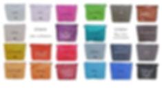 Farbübersicht, Farben, Bagy, Tin-G