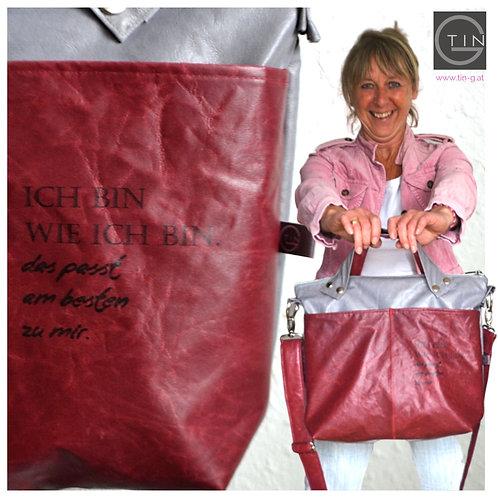 BAGY mit Henkel+Außentasche-create your own