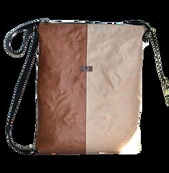 Ina, lila, beige, Tin-G, Design, Taschendesign, Designertasche, Clutch, selbstgestalten, create your own, wandelbar, veganes Leder, vegan leather, beige, cognac