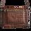 Thumbnail: Flatbags-cognac Krokooptik+cognac+sonnengelb