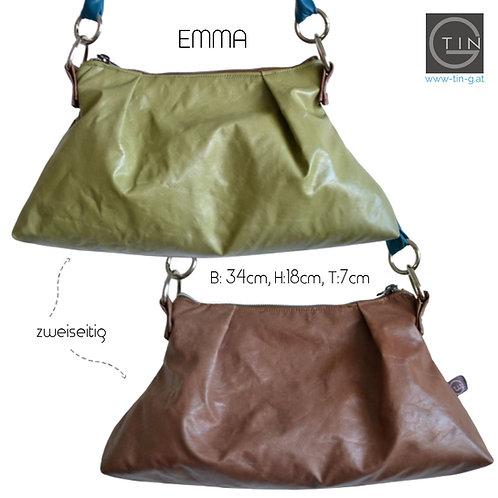 EMMA - grün/cognac
