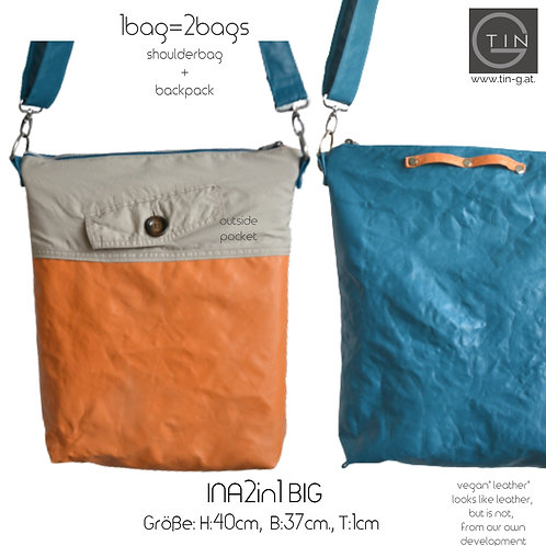 INA2in1 Big-2nd life-Trenchcoat