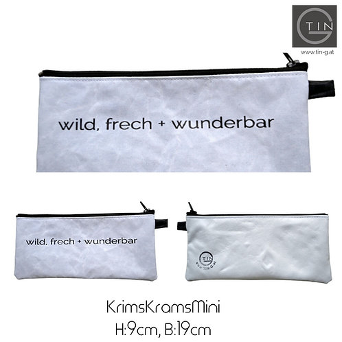 KRIMSKRAMS Mini-weiß+weiß+wild