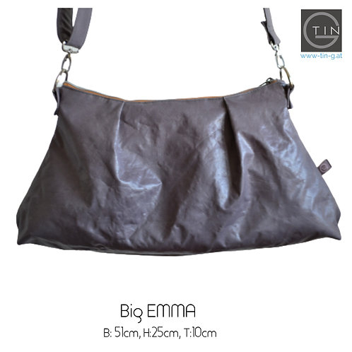 Big EMMA - grau(lilastichig)