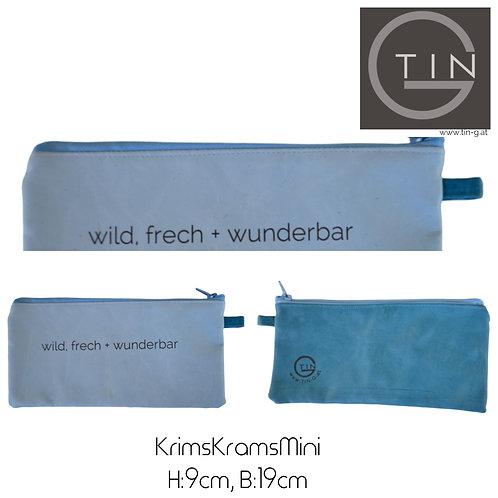 KRIMSKRAMS Mini-hellblau+petrol+wild