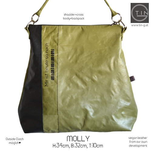 MOLLY-matcha(oliv neu)+schwarz+Mimimi