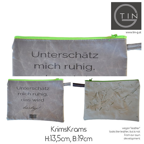 KRIMSKRAMS-grau+beige+unterschätz