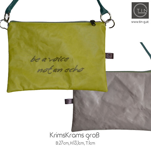 KRIMSKRAMSgroß-greenery+greige+be a voice