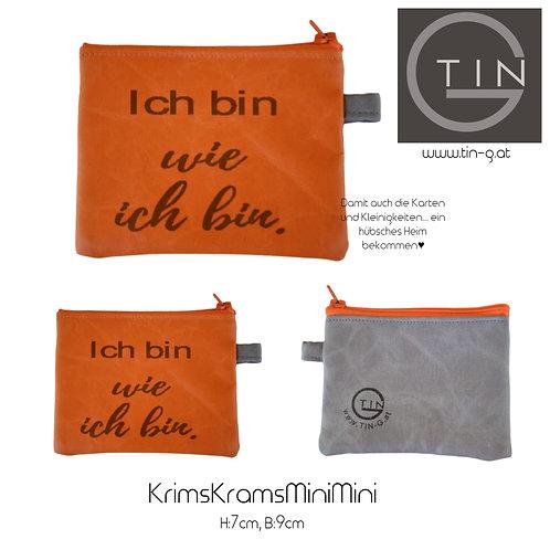 KRIMSKRAMS MiniMini-orange+grau+Ich bin