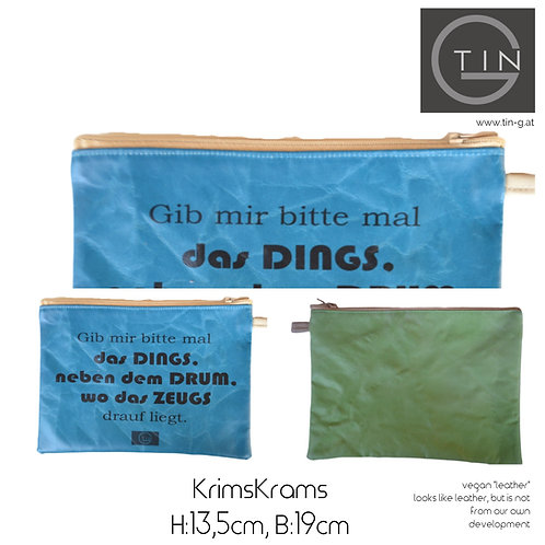 KRIMSKRAMS-aqua+erbsig+Dings