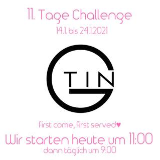11 TAGE CHALLENGE