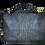 Thumbnail: BigBagy-quer-grau Krokooptik+schwarz