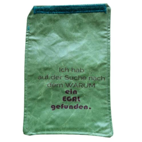 BigHandylasche erbsig+smaragd+egal