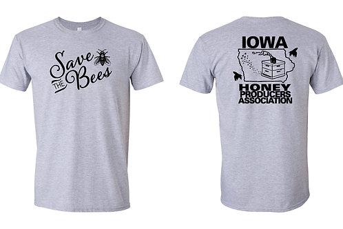 Grey short sleeve t-shirt