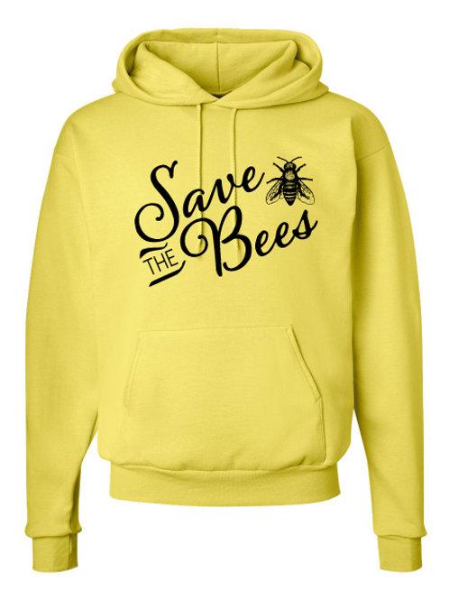 Yellow-Hoodie Sweatshirt