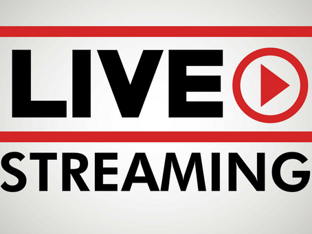Como funciona a transmissão ao vivo de eventos online