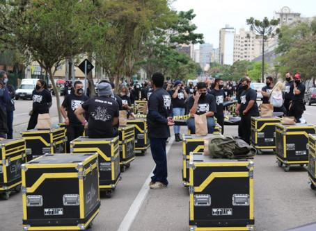 Manifestação: empresas e profissionais de eventos pedem SOCORRO!