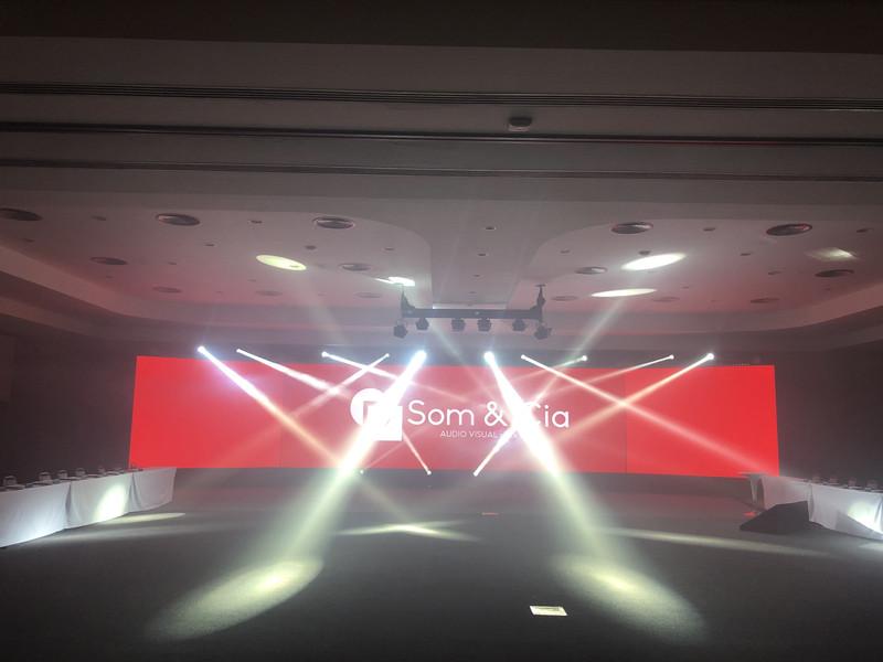 Iluminação e sonorização