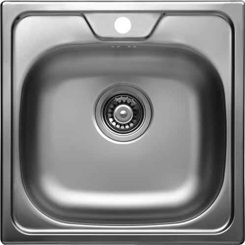 """Stainless Steel Sink Alveus ALLUX 19""""x19"""""""