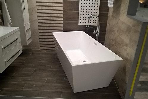 """Bathtub Mary White 170x80x59 (70""""x31.5""""x23"""")"""