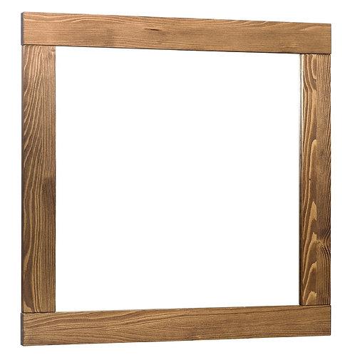 "Mirror wood palisander 80x80 (31.5""x31.5"")"