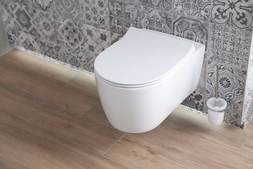 Wall Hung Toilet Idevit with Seat