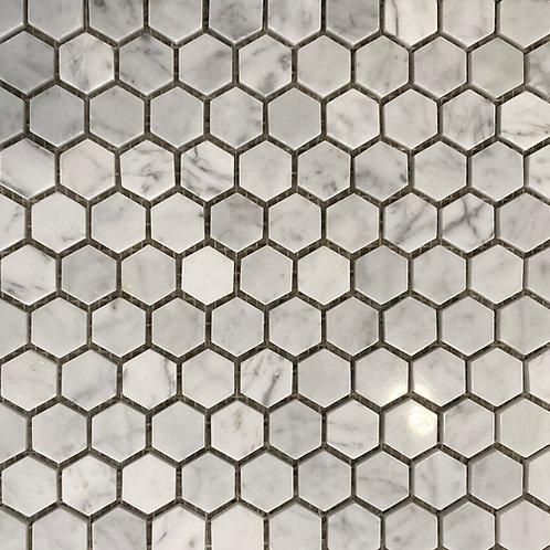 Marble Mosaic Small Hexagon