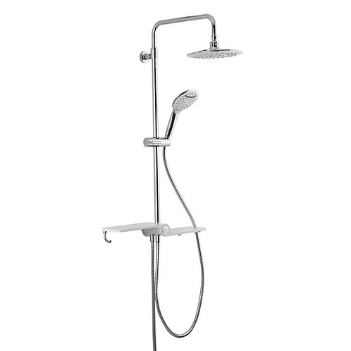 Shower System without faucet Chrome
