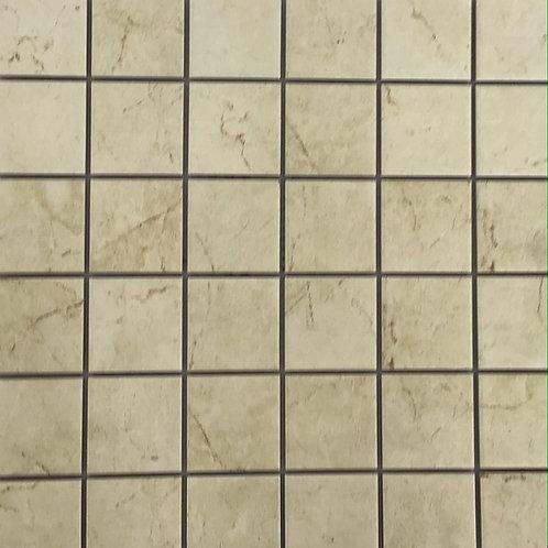 Cream Marble Colour Matt Mosaic 12X12