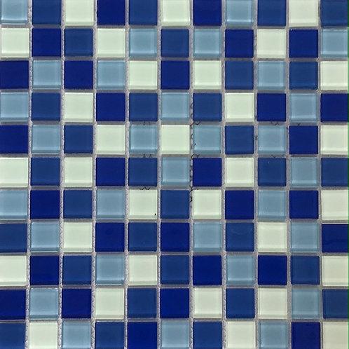 Blue/White Mosaic 11.75X11.75
