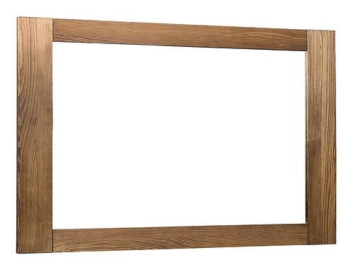 "Mirror wood palisander 120x80 cm(47.2""X31.4"")"