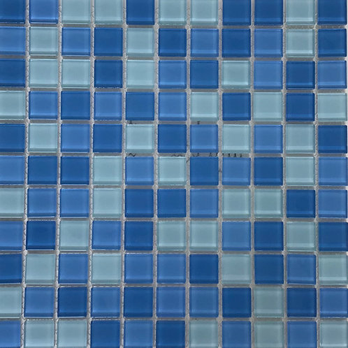Light Blue Mosaic 11.75X11.75