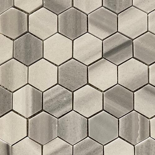 Marble Mosaic Large Hexagon