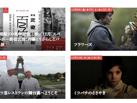 バスク関連映画の連続上映(12月6日〜19日)